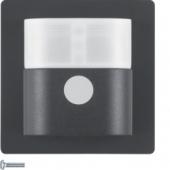 Berker.Net - Инфракрасный датчик движения «Комфорт», 2,2, Q.1/Q.3, цвет: антрацитовый, с эффектом бархата 85342226