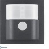 Berker.Net - Инфракрасный датчик движения «Комфорт», 2,2, S.1/B.3/B.7, цвет: антрацитовый 85342285
