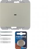 Berker.Net - Настенный передатчик, KNX-Радио, 1-канальный, плоский quicklink, K.5, цвет: нержавеющая сталь 85655273