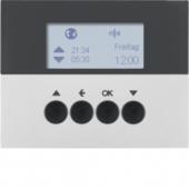 Berker.Net - Таймер для вставки жалюзи, KNX-Радио quicklink, K.5, цвет: алюминиевый 85745177