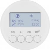 Berker.Net - Таймер для вставки выключателя, KNX-Радио, quicklink, R.1/R.3, цвет: полярная белизна 85745239