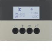 Berker.Net - Таймер для вставки выключателя, KNX-Радио, quicklink, K.5, цвет: нержавеющая сталь 85745273