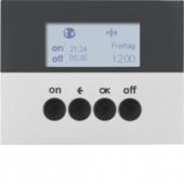 Berker.Net - Таймер для вставки выключателя, KNX-Радио, quicklink, K.5, цвет: алюминиевый 85745277