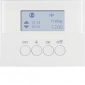 Berker.Net - Таймер для вставки выключателя, KNX-Радио, quicklink, K.1, цвет: полярная белизна 85745279