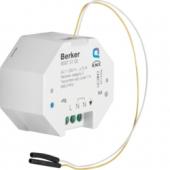 Berker.Net - Исполнительное устройство, KNX-Радио, 1-канальное и бинарный вход, 1-канальный, для скрытого монтажа 85875100