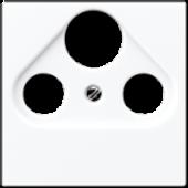 Крышка для SAT-TV-розетки, белая A561PLSATWW