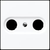 Крышка для TV-розетки, белая A561PLTVWW