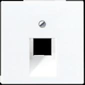 Крышка для одинарной розетки UAE, белая A569-1PLUAWW