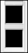 Рамка 2-кратная с полем для надписи, белая A582NAWW