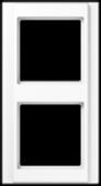 Рамка 2-кратная, белая A582WW