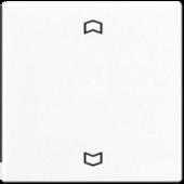 Клавиша для одинарной кнопки BCU, белая A590PWW
