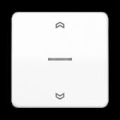 Клавиша для одинарной кнопки BCU, белая CD590KO5PWW