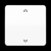 Клавиша для одинарной кнопки BCU, белая CD590PWW