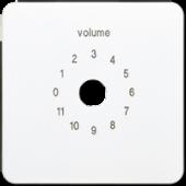 Крышка для регулятора громкости, белая CD594-8WW