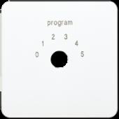 Крышка для переключателя выбора программ, белая CD594-9WW