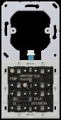 Дополнительный KNX кнопочный модуль для подключения к основному модулю 4094TSEM