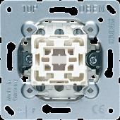 Кнопка двухполюсная с переключающими контактами