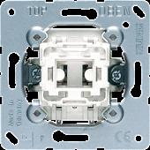 Кнопка однополюсная с НО контактом и отдельным сигнальным контактом