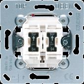 Кнопка сдвоенная без фиксации с двумя НО контактными группами и подсветкой
