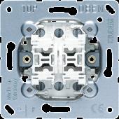 двухклавишная кнопка с перекидными контактами