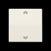 Клавиша  блока управления жалюзи, слоновая кость ABAS5232FS