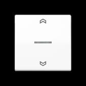 Клавиша  блока управления жалюзи, белая ABAS5232WW