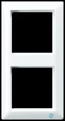 Рамка 2-кратная ABAS582NWW