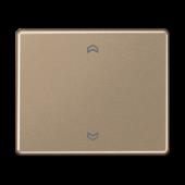 Клавиша блока управления жалюзи с возможностью подсоединения датчиков, золотая бронза SL5232FSGB