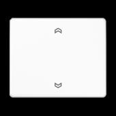 Клавиша блока управления жалюзи с возможностью подсоединения датчиков, белая SL5232FSWW
