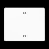 Клавиша блока управления жалюзи, белая SL5232FWW