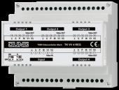 Видеораспределитель 4-х канальный на DIN рейку TKVV4REG