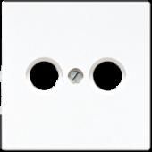 Крышка для телевизионной розетки, белая LS990TVWW