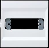 Крышка для разъема D-типа, белая LS994-1WW