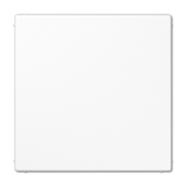 Крышка без отверстий для произвольных вырезов, белая LS994BWW
