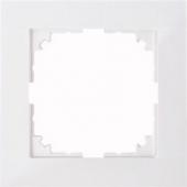 M-Pure 1-постовая рамка, бриллиантовый белый MTN4010-3625