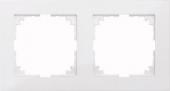 M-Pure 2-постовая рамка, бриллиантовый белый MTN4020-3625
