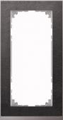 M-Pure D?cor 2-постовая рамка без перегородки, нерж.сталь/цвет алюминия MTN4025-3646