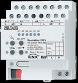 Комбинированный актуатор Raum для освещения-жалюзи-отопления RA23024REGHE