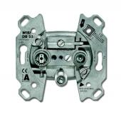 Механизм TV-R-SAT розетки, тупиковая 0232-101-500