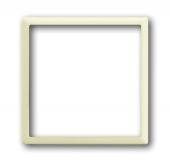 Плата центральная (накладка) для механизма светоиндикатора 2062 U, серия impuls, цвет слоновая кость 1716-72