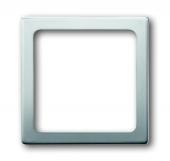 Плата центральная (накладка) для механизма светоиндикатора 2062 U, серия pur/сталь 1716-866