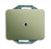 Заглушка с суппортом, серия alpha exclusive, цвет палладий 1742-260