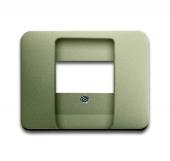 Плата центральная (накладка) для механизмов UAE/TAE, для 0247 и 0248, серия alpha exclusive, цвет палладий 1766-260