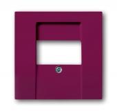 Плата центральная (накладка) для механизмов UAE/TAE, для 0247 и 0248, серия solo/future, цвет toscana/красный 1766-87