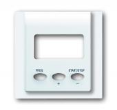 Плата центральная (накладка) для таймера обратного отсчета 6465 U, серия impuls, цвет альпийский белый 1773-74