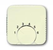 Плата центральная (накладка) для механизма терморегулятора (термостата) 1094 U, 1097 U, серия Busch-Duro 2000 SI, цвет слоновая кост 1794-212