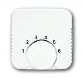 Плата центральная (накладка) для механизма терморегулятора (термостата) 1094 U, 1097 U, серия Reflex 2000 SI альпийский белый 1794-214