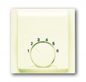 Плата центральная (накладка) для механизма терморегулятора (термостата) 1094 U, 1097 U, серия impuls, цвет слоновая кость 1794-72