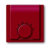 Плата центральная (накладка) для механизма терморегулятора (термостата) 1094 U, 1097 U, серия impuls, цвет бордо/ежевика 1794-777