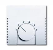 Плата центральная (накладка) для механизма терморегулятора (термостата) 1094 U, 1097 U, серия solo/future, цвет белый 1794-84